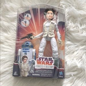 Star Wars forces of destiny Princess Leia